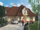 Проект удобного дома с гаражом и мансардой